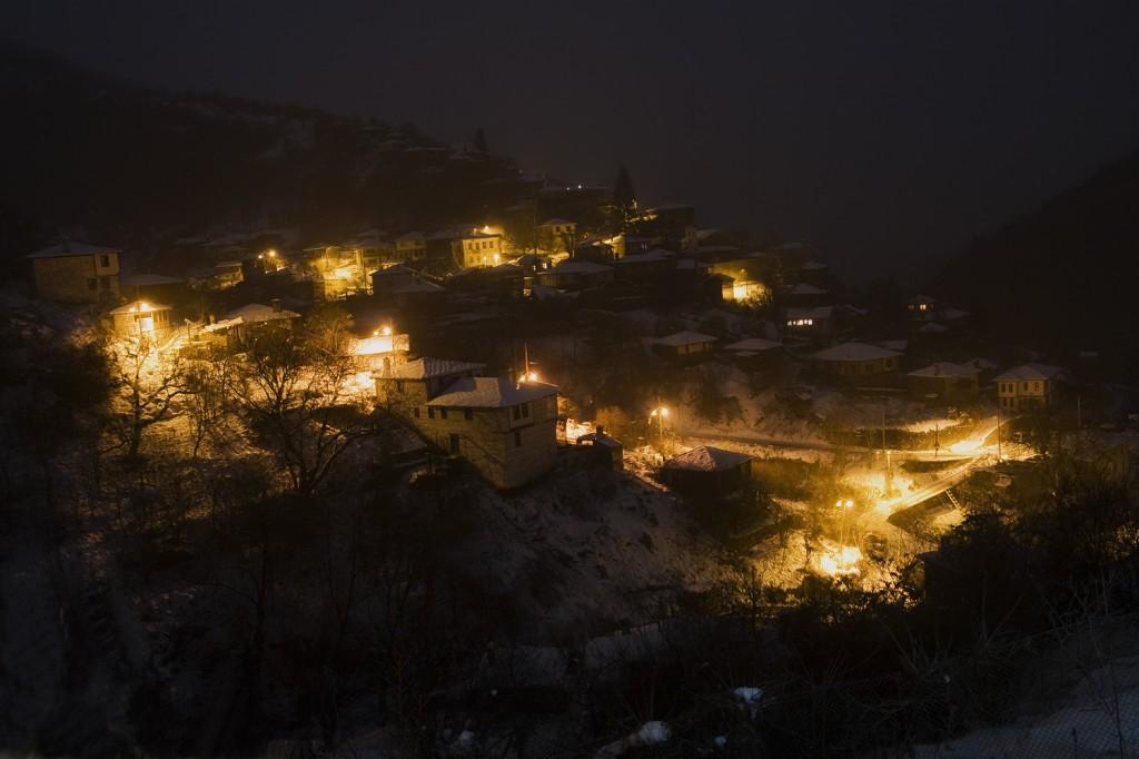 с. Косово нощем